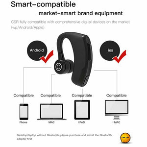Bluetooth Headset Wireless Headphones with Mic