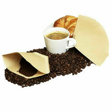 Load image into Gallery viewer, 100/200Pcs V60 Coffee Filter Paper Original Unbleached