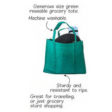 Load image into Gallery viewer, 3x Reusable Folding Supermarket Shopping Grocery Bags