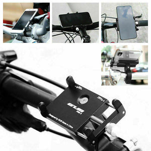 Mobile Phone Holder 360° Rotation Mount Alloy for Motorcycle Bicycle Bike