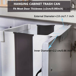 Folding Waste Bin Kitchen