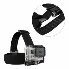 Load image into Gallery viewer, GoPro Head Helmet Strap & Chest Harness Mount
