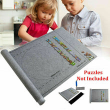 Load image into Gallery viewer, 1500 PCS Jigsaw Puzzle Roll Mat Set