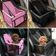 Load image into Gallery viewer, Pet Car Booster Seat Auto Carrier Travel Safety Protector Basket