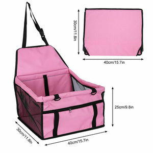 Pet Car Booster Seat Auto Carrier Travel Safety Protector Basket