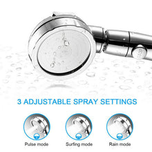 Load image into Gallery viewer, 3 In 1 High Pressure Showerhead Handheld Massage Shower Head
