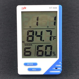 Digital Thermometer Hygrometer Indoor Outdoor Temperature Humidity Meter