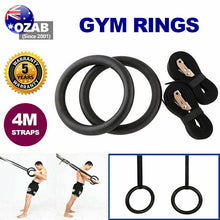 Load image into Gallery viewer, Gymnastic Rings Pair Gym Hoop