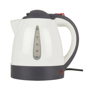 Rovin 1L 12V Attractive Kettle White With Auto-Shut Off & Boil Dry Protector