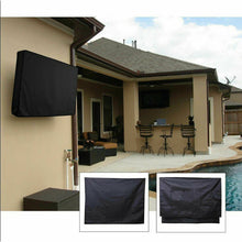 "Load image into Gallery viewer, 60""-65"" Inch Waterproof TV Cover Protector Black"