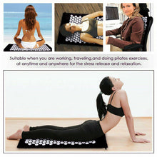 Load image into Gallery viewer, Massage Acupressure Yoga Shakti Sit Lying Mats Pain Stress Soreness Relax Mat