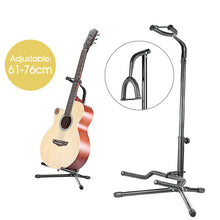 Load image into Gallery viewer, Guitar Folding Tripod Gear Metal Stand