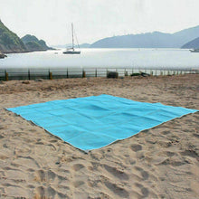 Load image into Gallery viewer, 2x2M Beach Mat Sand Free Waterproof Outdoor Picnic Rug