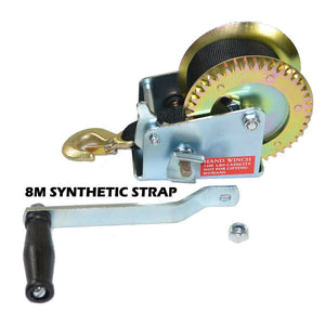 2500LBS Hand winch For Boat, Trailer and 4WD