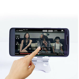 Universal Folding Aluminum Tablet Mount Holder Stand