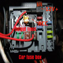 Load image into Gallery viewer, 5PCS Add A Circuit Fuse Tap Car Mini Micro Blade Fuse Box Holder 12V Low Profile