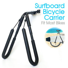 Load image into Gallery viewer, Adjustable Surfboard Skimboard Bicycle Carrier