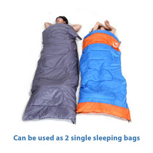 Load image into Gallery viewer, Double Outdoor Camping Sleeping Bag 220 x 150cm