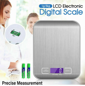 LCD Stainless Electronic Digital Scale