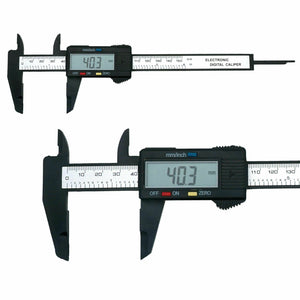 150mm 6'' Inch Electronic Digital Vernier Micrometer Caliper