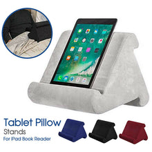 Load image into Gallery viewer, Tablet Pillow Stands For iPad Book Reader Holder