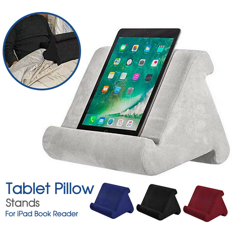 Tablet Pillow Stands For iPad Book Reader Holder