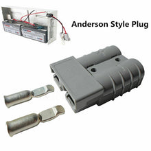 Load image into Gallery viewer, Anderson Style Plug Connectors Exterior DC Solar Caravan Power 12-24V 50AMP