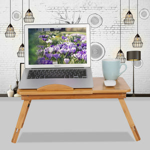Laptop Foldable Table Stand TV Tray Upgrade Portable Adjustable Desk