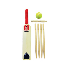 Load image into Gallery viewer, Cricket Set Size 5 with Wickets and Tennis Ball Game Sport 6pc