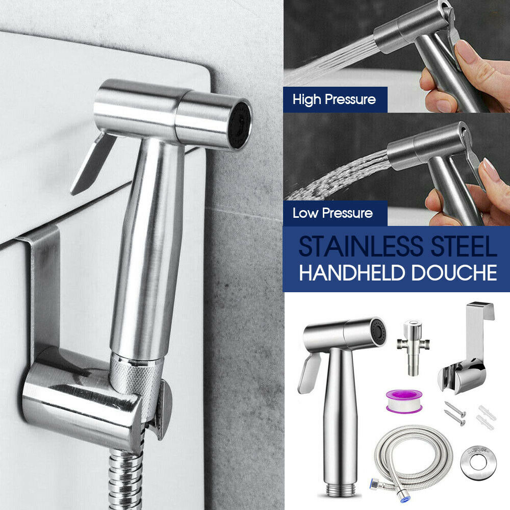 Stainless Steel Handheld Douche Kit