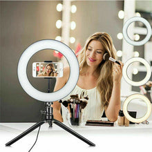 "Load image into Gallery viewer, 10"" Phone Selfie LED Ring Light with Stand"