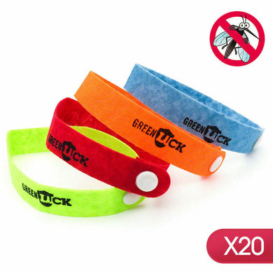 20 x Anti Mosquito Repellent Wrist Band