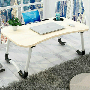 Laptop Table with Cup Slot