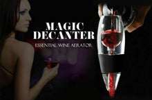 Load image into Gallery viewer, New Magic Decanter Essential RED Wine Aerator and Sediment Filter