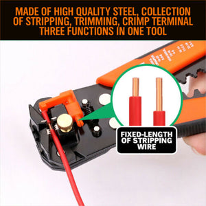 Automatic Wire Cutter Stripper Pliers