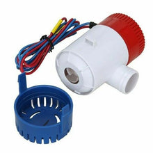Load image into Gallery viewer, 1100GPH Submersible Bilge Water Pump 12V