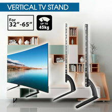 "Load image into Gallery viewer, 32-65"" Bracket Universal Table Top TV Stand Leg Mount"