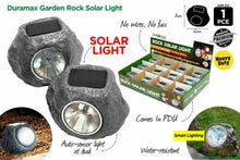 Load image into Gallery viewer, 6x Outdoor Garden LED Solar Deco Rock Stone Spot Lights Landscape Lamp
