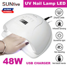 Load image into Gallery viewer, USB SUN FIVE UV Nail Lamp LED Manicure Machine