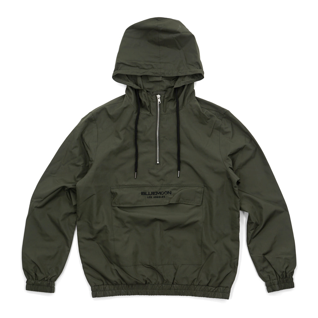 Olive Windbreaker BM Los Angeles by Blue Moon & Co, Exclusive, Lifestyle