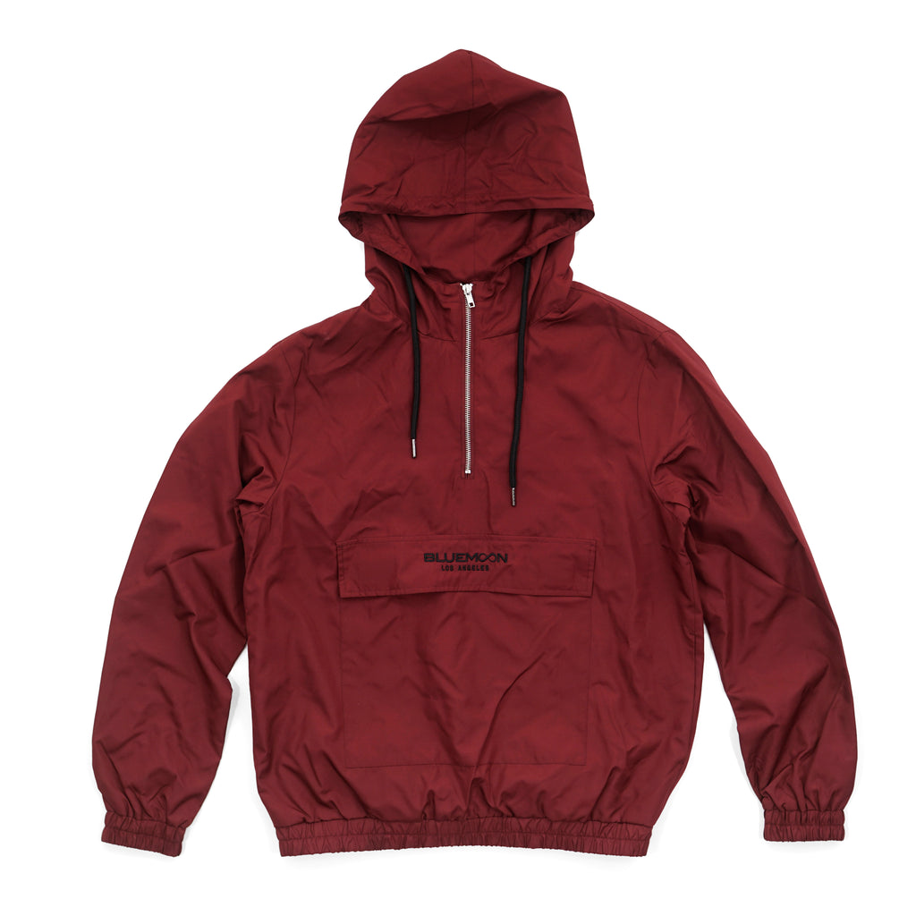 Red Windbreaker BM Los Angeles by Blue Moon & Co, Exclusive, Lifestyle