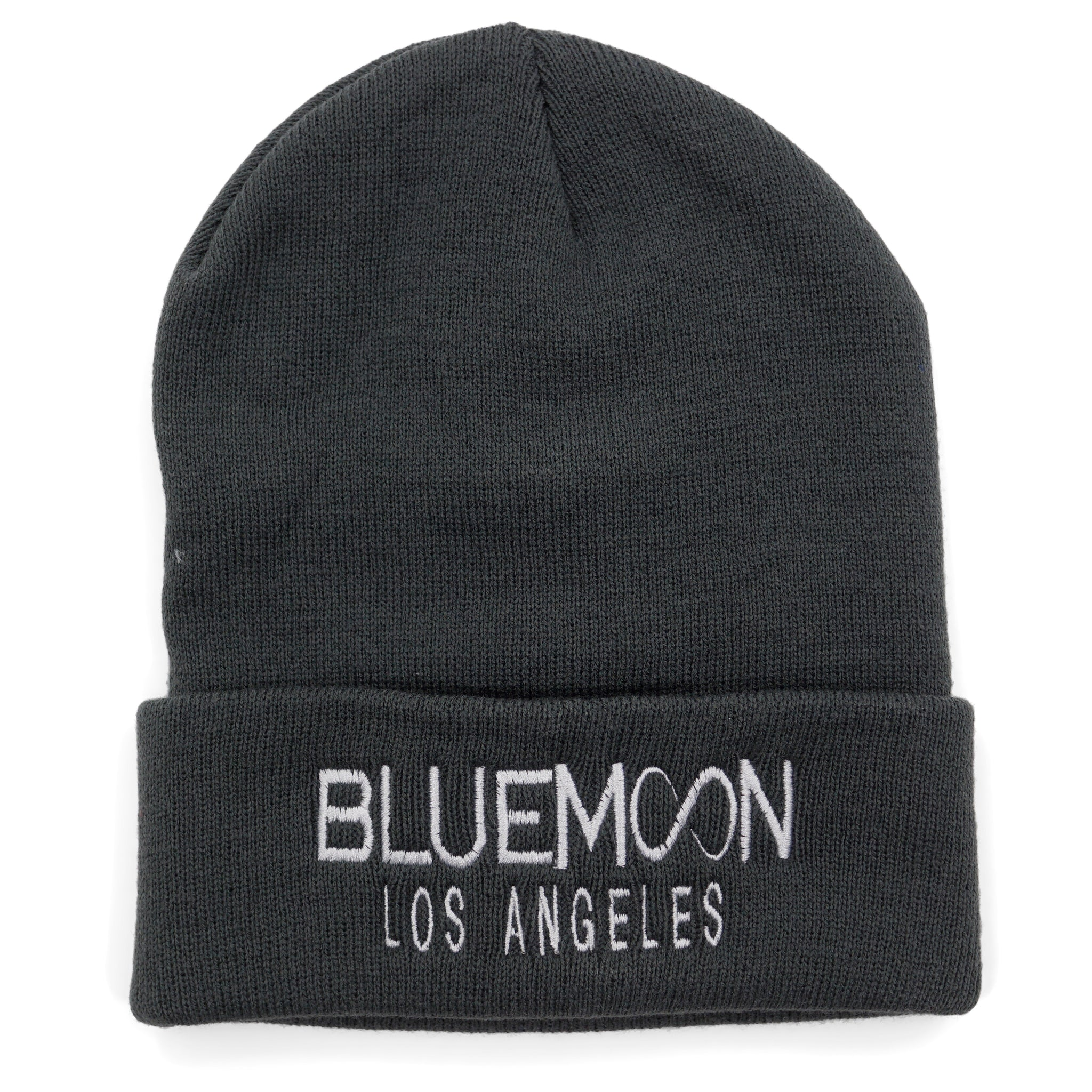 One size Grey BM Los Angeles Beanie by Blue Moon & Co, Exclusive, Lifestyle