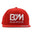 One size Red BM Los Angeles Diamond Hat by Blue Moon & Co, Exclusive, Lifestyle