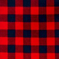 Arctic Check Fleece - Red/Black