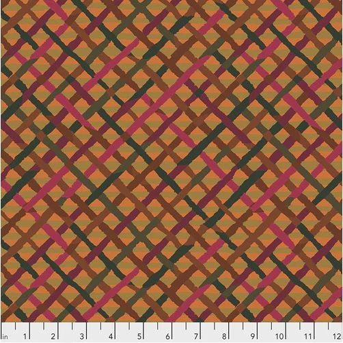 Kaffe Fasset Collective - Mad Plaid - Rust