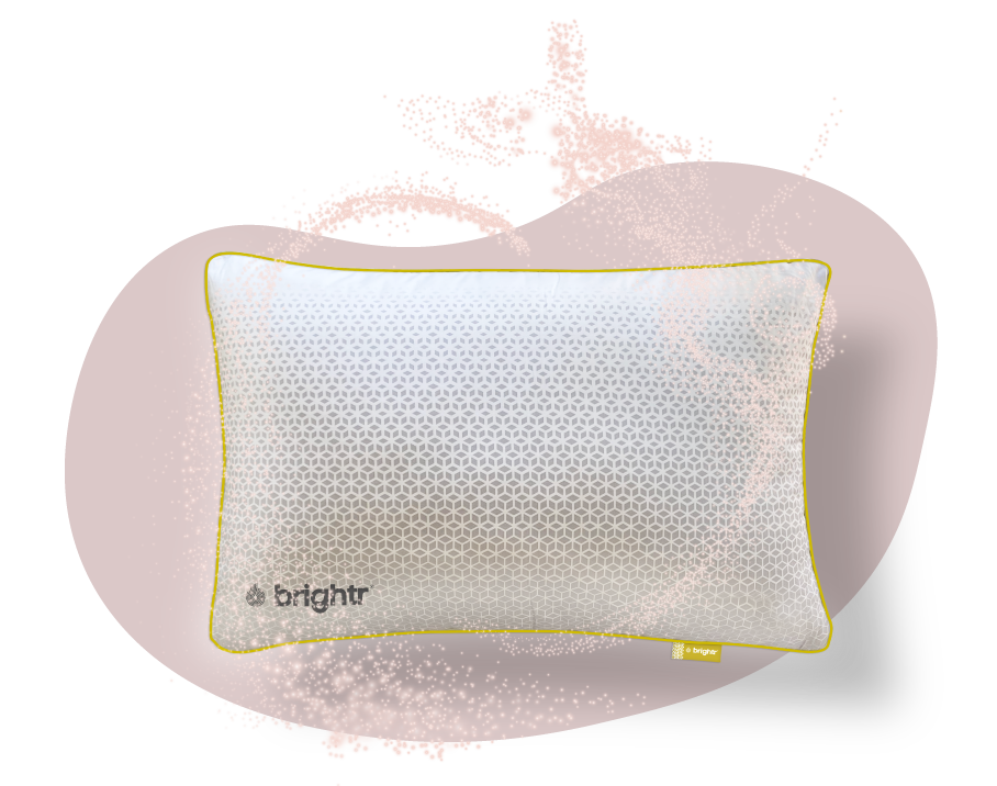 Brightr Sleep Stella Copper Infused Pillow