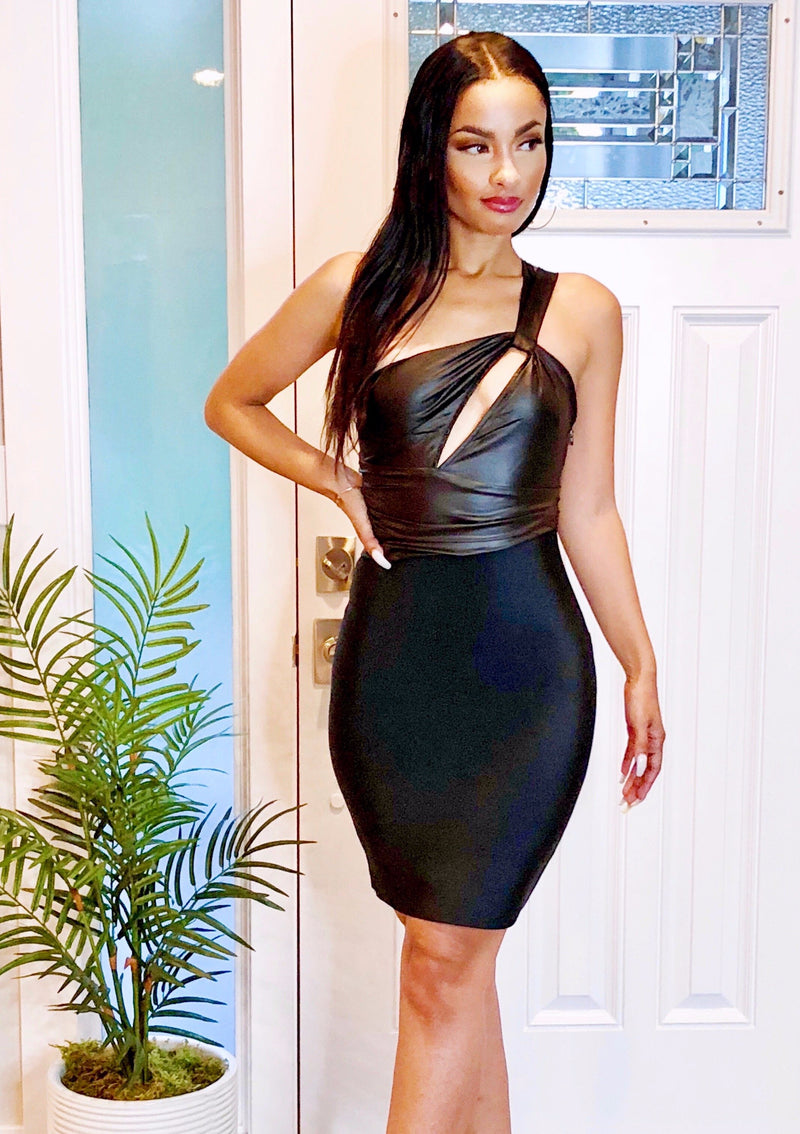 Go-Getter Bandage Dress