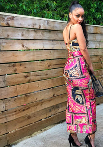 Printed Leopard Maxi Dress