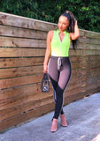 Neon Sporty Bodysuit
