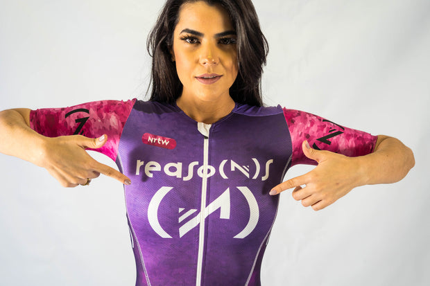 """All Grape"" Hyper Tri-Suit (F)"